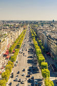 Champs Elysees boulevard — Stock Photo