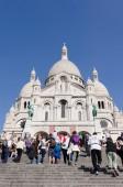 Sacre Coeur people — Стоковое фото