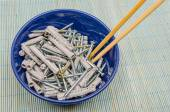 Screws an dowels — Stock Photo
