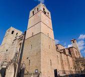 Siguenza cathedral guadalajara — Stock Photo