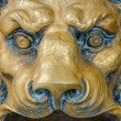 Постер, плакат: Lion head postal box
