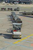 Baggage trains — Stock Photo