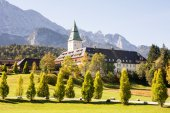 Schloss Elmau — Stock Photo