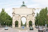 Siegestor w Monachium — Zdjęcie stockowe