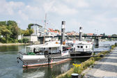 Regensburg Museum of Danube Shipping — Stock Photo