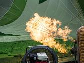 Hot Air Balloon Burner — Stock Photo