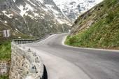 High Alpine Road — Stock Photo