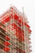 строительные леса — Стоковое фото