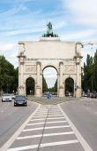 Siegestor in Munich — Stock Photo