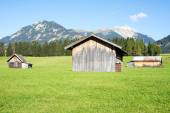 Alpine Barn — Stock Photo