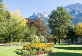 Park in Mittenwald — Photo