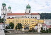 St. Stephen's Cathedral in Passau — Stock Photo