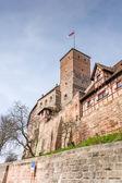 Imperial Castle in Nuremburg — Stock Photo