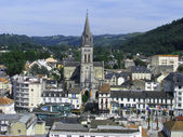 Lourdes From Above — Stock Photo