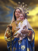 Our Lady of the Girdle — Stock Photo