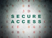 Privacy concept: Secure Access on Digital Paper background — Stock Photo