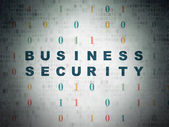 Protection concept: Business Security on Digital Paper — Stock Photo