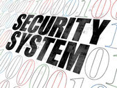 Protection concept: Security System on Digital background — Stock Photo