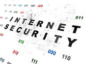 Privacy concept: Internet Security on Digital background — Stock Photo