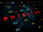 Privacy concept: Phishing on Digital background — Stock Photo