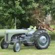 Old vintage little grey fergie ferguson tractor farm equipment — Stock Photo #65672995