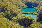 Plitvice lakes national park canyon — Стоковое фото