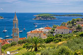 Island of Hvar nature and architecture — Stock Photo