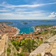 Town of Hvar and Paklinski islands view — Stock Photo #52944461