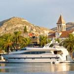 Dalmatian town of Trogir waterfront — Stock Photo #53123959