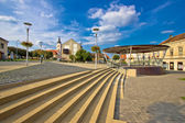 Town of Krizevci main square — Stock Photo