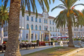 UNESCO town of Trogir waterfront architecture — Stock Photo