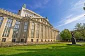 Croatian national state archives building in Zagreb — Stock Photo