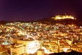 Adriatic town of Sibenik night view — Stok fotoğraf