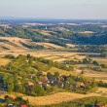 Agricultural green landscape od Prigorje region — Stock Photo #59340119
