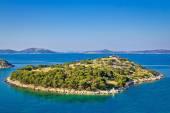 Small island in archipelago of Croatia — Stock Photo