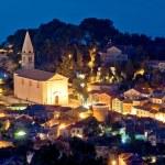 Colorful coastal town of Veli Losinj — Stock Photo #64406109