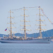 Постер, плакат: The sail ship Nadezhda of Russian Federation