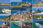 Island of Losinj tourist destination collage — Stock fotografie