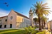 UNESCO town of Trogir church view — Foto de Stock