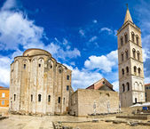 Zadar cathedral famous landmark of Croatia — Stock Photo