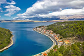 Novigrad Dalmatinski fishermen village bay — Foto de Stock