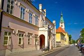 Bjelovar şehrin tarihi mimarisi — Stok fotoğraf