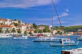 Yachting harbor of Hvar island — Stock Photo