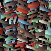 Vettore geometrico astratto sfondo — Vettoriale Stock
