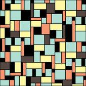 Naadloze geometrische patroon — Stockvector