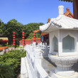 Постер, плакат: Front view of Simulation of Old Summer Palace Gardens of Perfec