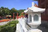 Front view of Simulation of Old Summer Palace ,Gardens of Perfec — Stock Photo