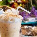 Cool espresso coffee in bottle — Stock fotografie #55898333