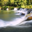 Beautiful waterfalls in pure deep forest of thailand national park — Stock Photo #60058015