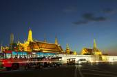 BANGKOK THAILAND DEC 31 :  Tuk Tuk  thailnad parking on road in  — Stock Photo
